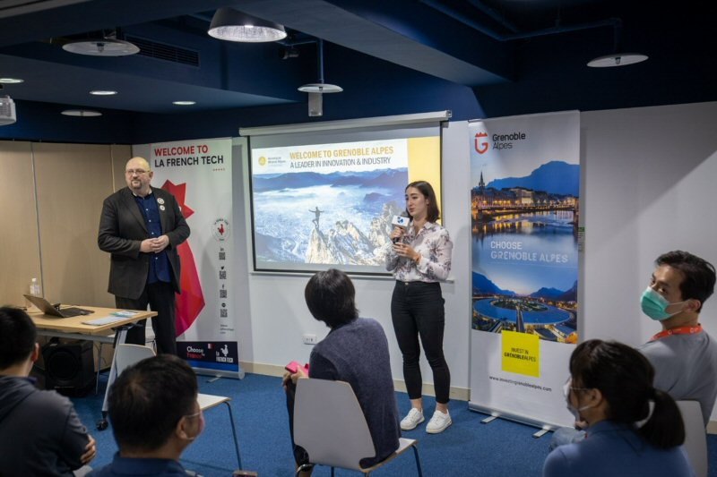 The soft landingincubator global network project launched in Taiwan